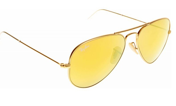 lunette soleil ray ban jaune