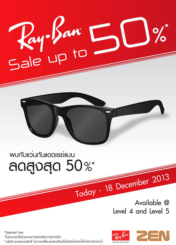 ray ban promotion