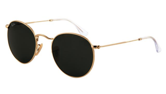 lunette ray ban ronde noir