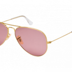 Lunette ray ban rose