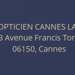 Opticien cannes